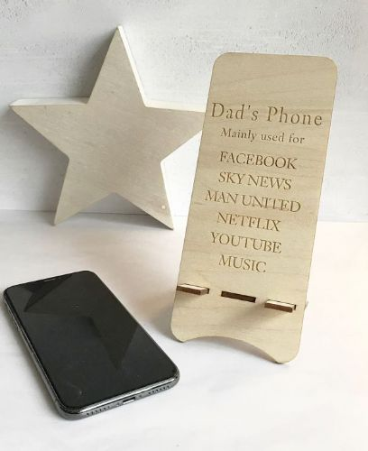Personalised 'The Reasons For Using My Phone Stand'